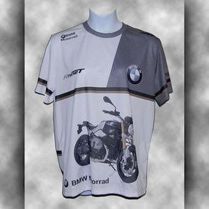 BMW Shirts - BMW MOTORRAD Rninet Nylon Jersey/T-Shirt